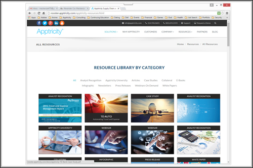 New Apptricity Resource Center